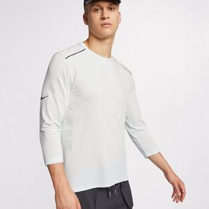 NIKE TECH PACK RISE 365 3/4 sleeve running shirt